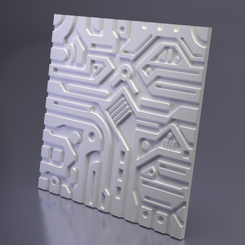 Гипсовая 3Д панель Ex-Machina A