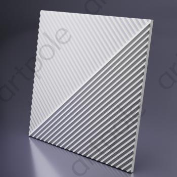 Гипсовая 3Д панель Fields 1