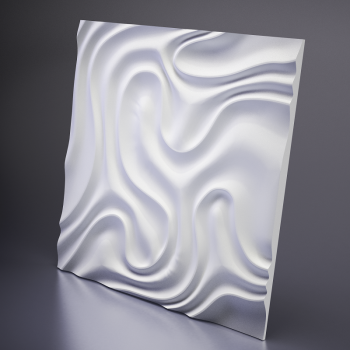 Гипсовая 3Д панель Foggy 1