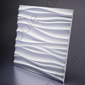 Гипсовая 3Д панель Silk 1