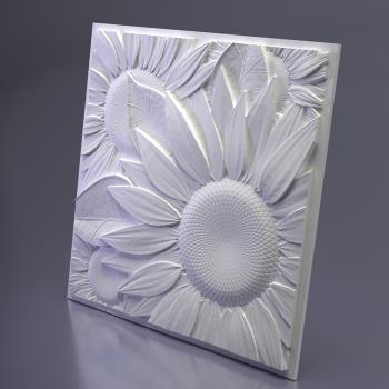 Гипсовая 3Д панель Sunflower