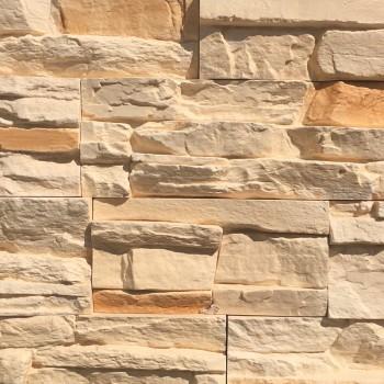 Искусственный декоративный камень Известняковая груда бежевая 041