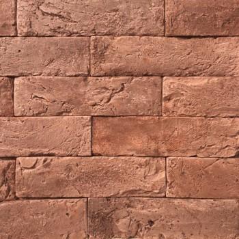 Искусственный декоративный Кирпич Петра коричневый