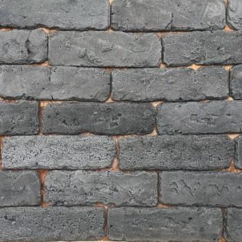 Искусственный декоративный Кирпич Состаренный серый