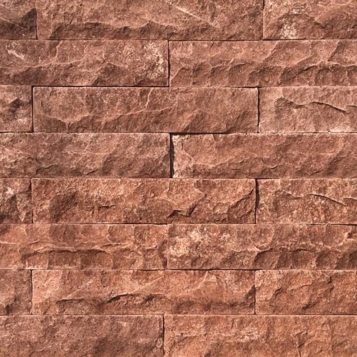 Искусственный декоративный Кирпич Венеция коричневый