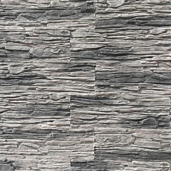 Искусственный декоративный камень Сланец Тонкослойный серый
