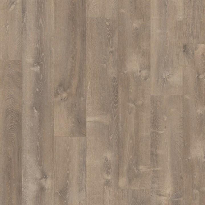 Виниловая плитка Quick-Step LIVYN Pulse Click Дуб песчаный теплый коричневый