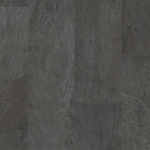 Виниловая плитка Quick-Step Ambient Glue Plus Сланец черный