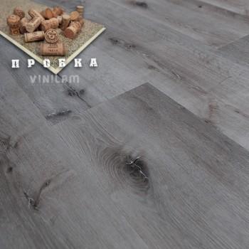 ПВХ плитка Vinilam Гибрид + пробка 6,5 мм 10-065 Дуб монс