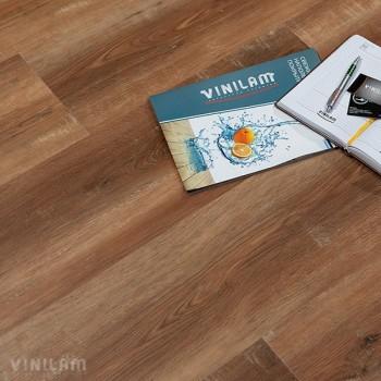 ПВХ плитка Vinilam Гибрид 5,5 мм 5080 Дуб сарагоса
