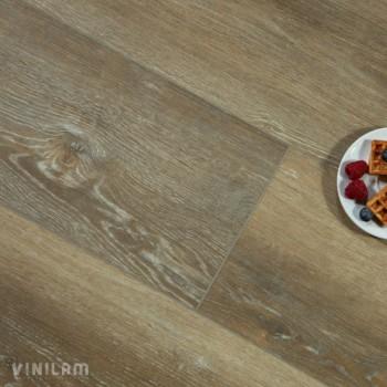 ПВХ плитка Vinilam XXL Гибрид + пробка 6,5 мм 10056 Дуб месен