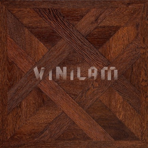 ПВХ плитка Vinilam Паркет 4,5 мм 216513 Паркет темный